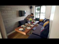 LifeEdited 2 (LE2) 350sft Transforming Micro Apartment