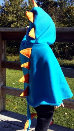 Dinosaur capes  - customizable Kids play dress up costume - boy girl unisex -  custom colors listing - 1 2 3 4 6 8 10 12  baby toddler child