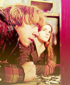 Ron and Hermione Loveteam