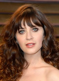 Curls and Eyelashes Zooey Deschanel: pic #677598