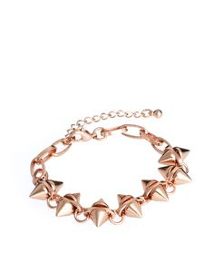 double spike bracelet / asos