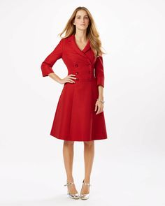 Phase 8 red dress in pretty