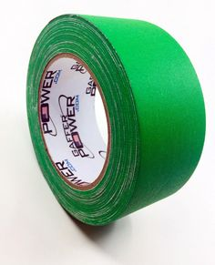 Gaffer Power Gaffer Tape, 2 Inch x 30 Yards - Chroma Green (Green Screen Tape) Gaffer Tape, Rings For Men, Chrome, Yards, Green, How To Make, Products, Men Rings, Garten