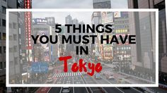 Nice set of tips. Bring: 1. Comfortable Shoes, 2. Lots of cash, 3. Prepaid SIM card, 4. Google maps (predownloaded for Tokyo) and 5. Apps with walking guides