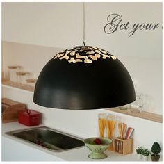 Find More Pendant Lights Information about modern brief carved black/white Dia 40/53cm aluminum led e27 pendant light dining room living room bar shop lamp 1595,High Quality e27 led light bulb,China e27 light holder Suppliers, Cheap e27 cfl from Light up future co.,Ltd on Aliexpress.com