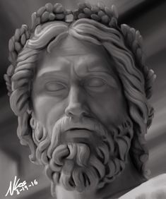 Image result for zeus statue head