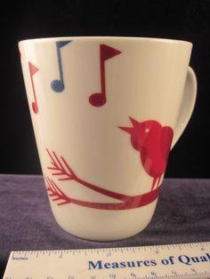 Starbucks coffee mug SINGING BIRD 2012