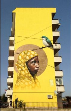 """La madre di Arghillà"" di Rosk & Loste - Reggio Calabria #streetart jd"