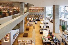 tsutaya library bookshelf - Google Search
