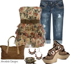 """Spring is int eh air"" by amabiledesigns on Polyvore"