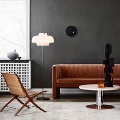 A line extension from the Loafer lounge chair designed for the SAS Royal Hotel by Space Copenhagen, the Loafer sofa has the same seat height and depth. Remaining true to its name, it offers the utmost in comfort, involving extensive time and craftsmanship to ensure the solid construction, plush upholstery and detailed stitching. Brand: &Tradition Designer: Space Copenhagen Scandinavian Living, Scandinavian Design, Berlin Design, Space Copenhagen, Copenhagen Design, Mug Design, Best Decor, Lounge Chair Design, Cleaning Recipes