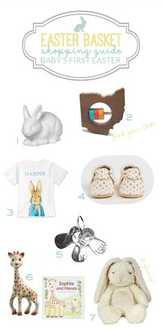 Easter Basket Shopping Guide: Baby's First Easter Basket Gift Ideas