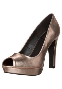 Escarpins à bout ouvert - rosegold Even And Odd, Peep Toe, Rose Gold, Heels, Metallic, Fashion, Peep Toe Pumps, Golden Shoes, Fashion Styles
