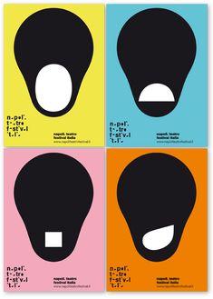 Leonardo Sonnoli, identity of the Napoli Teatro Festival Italia developed in the 2008 and 2009 seasons.