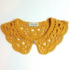 Organic Cotton Crochet Collar