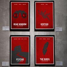 Print Essential Hitchcock 4 Stk., 89€, jetzt auf Fab.