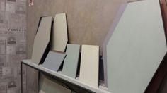 Da Ceramica Di Treviso by Verso25 bellissime tinte pastello, dalla superficie mat, declinate su formati inconsueti.  Palesemente dedicato all'architettura, ci piace!  Pad. 22 #Cersaie2015  #MCaroundCersaie