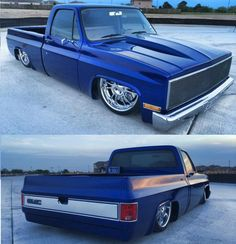 (1) Strictly Slammed Square Bodies (chevrolet 1973- 1991) 87 Chevy Truck, Classic Chevy Trucks, Chevy C10, Chevy Pickups, Chevrolet Trucks, Classic Chevrolet, Classic Cars, Bagged Trucks, Lowered Trucks