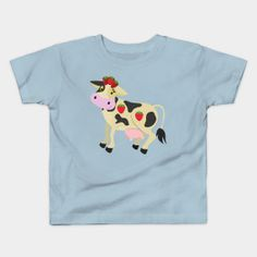 Cute Smiling Strawberry Cow - Strawberry Cow - T-Shirt | TeePublic.  Cute Smiling Strawberry Cow with Strawberry Hat. Black and white cow with strawberries. A cute and adorable design for the young child. White Cow, Black And White, Strawberries, Sisters, Hat, Children, Mens Tops, T Shirt, Design