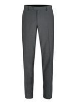 Gray Twill Skinny Fit Suit Pants