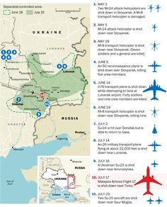 Ukrainian aircraft shot down in separatist conflict #ukraine #planeaccidents | #Infographic repinned by @Piktochart | Create yours at www.piktochart.com