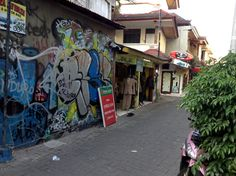 Would you buy your fine suit from here? Legian, Bali, Indonesia
