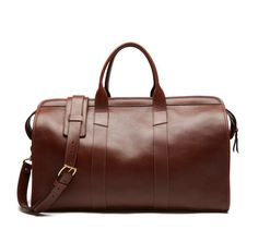 Lotuff - Leather Duffle Travel Bag