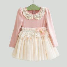 Gratuite expédition Girls Pink rose robe printemps par AJBPboutique, $33.00