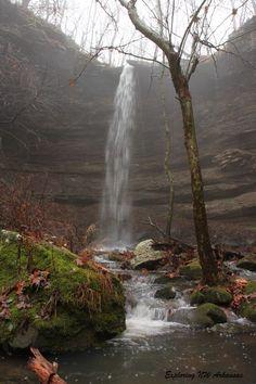 Hammerschmidt Falls - via ExploringNWArkansas.com