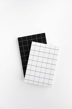 DIY Grid Notebook Covers- Free Printable