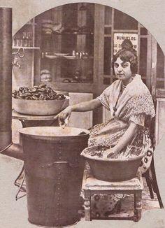 Bunyolera 1928 Alicante, Old Photos, Folk Art, Madrid, Barcelona, Spain, Poster, Painting, Vintage