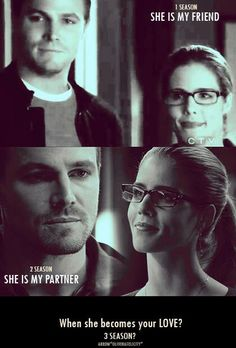 Yes please...that would be amazing at least in season 4......in season 3 I would like to see more of Felicity's past