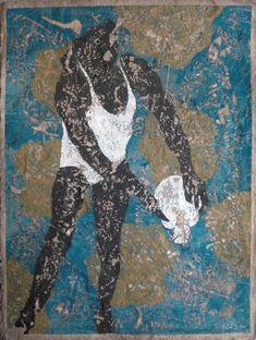 "Available for sale from Galerie Estampe, Pierre-Marie Brisson, carborundum print on handmade paper ""Pierrette"" Carborundum print on handmade paper Pierre Marie, Girl Silhouette, Ballet Dancers, Printer, Moose Art, Artsy, Canvas, Paper, Artwork"