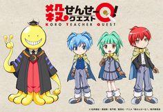 Imagen promocional de la película de Koro-sensei Q!.