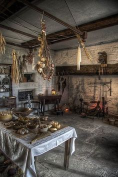 Medieval style kitchen