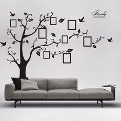 Cheap decoration design, Buy Quality photo tree directly from China designer wall stickers Suppliers: Homey Design Hot DIY Photo Tree PVC Wall Febals Wall Stickers Home Stickers Pegatinas de pared Fashion Decor Wall Stickers Uk, 3d Sticker, Personalised Wall Stickers, Removable Wall Stickers, Bedroom Stickers, Stickers Online, Family Stickers, Decorative Stickers, Wallpaper Stickers