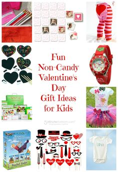 Non Candy Valentines Gifts for Kids