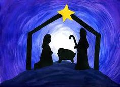children's nativity christmas card art - Google Search