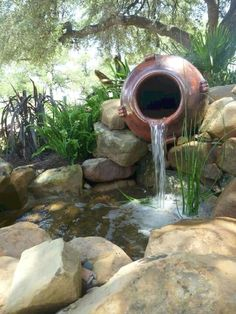 Installing an outdoor pond or water hole can be a simple weekend project using a kit from your local nursery or building supply store, or it can be an elaborate landscaping job that requires…MoreMore #LandscapingIdeas