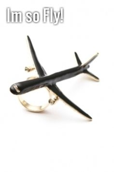 84e42742f2a melody ehsani -  i m fly  ring (black) - Melody Ehsani