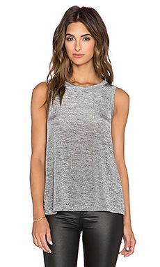 Sam Edelman Isla Cross Back Tank in Heather Grey Revolve Clothing, Heather Grey, Tank Tops, Clothes, Women, Fashion, Outfits, Moda, Halter Tops