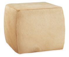 """Room & Board - Lind 21x21"""" Cocktail Ottoman"""