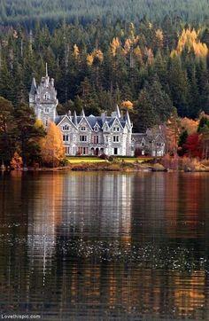 Ardverikie Castle, Loch Laggan, Scotland