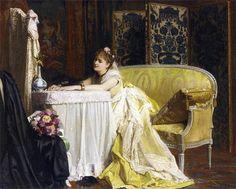 Retrato de Rita De Acosta Lydig de Charles Baugniet