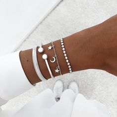 Nail Accessories, Fashion Accessories, Fashion Jewelry, Cute Bracelets, Bangles, Cute Jewelry, Women Jewelry, Accesorios Casual, Cute Ear Piercings