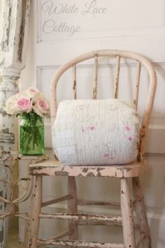 Shabby Linens And The Shop - White Lace Cottage