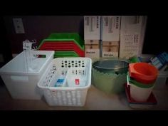 Organize on a budget - YouTube