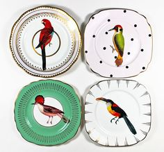 vintage animal plates - Google Search