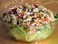 Surówka z kapusty pekińskiej, marchewki i czerwonej papryki - zdjęcie 2 Guacamole, Potato Salad, Salsa, Cabbage, Potatoes, Mexican, Vegetables, Ethnic Recipes, Food