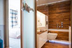 Łazienka w drewnie, drewno w łazience, azjatycka łazienka. Zobacz więcej na: https://www.homify.pl/katalogi-inspiracji/25326/azjatycka-lazienka-w-6-latwych-krokach